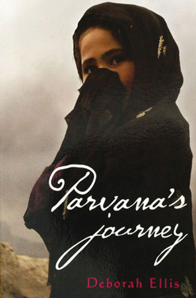 parvana by deborah ellis essay Since the taliban took over afghanistan, 11-year-old parvana has rarely been  outdoors barred from attending school, shopping at the market, or even playing.